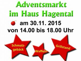 Adventsmarkt im Haus Hagental